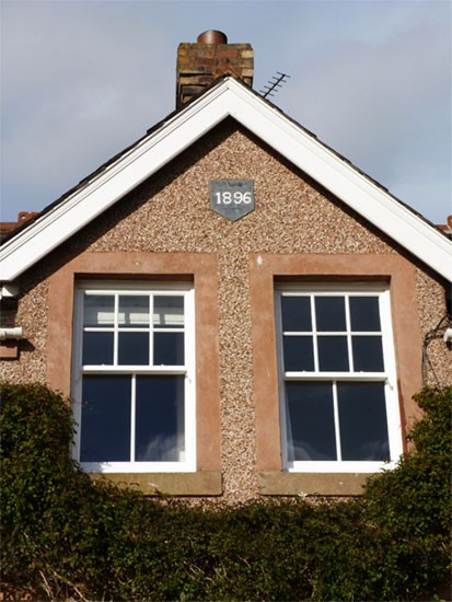Sliding Sash Windows in house in Scottish Borders