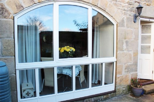 Shaped Timber Windows