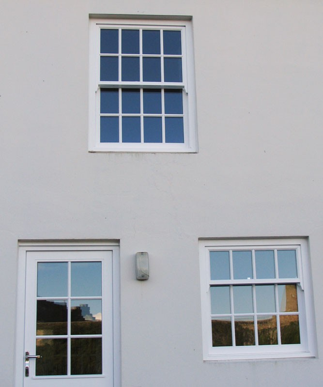 House with Sash Windows