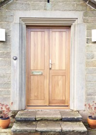 Timber Entrance Doors