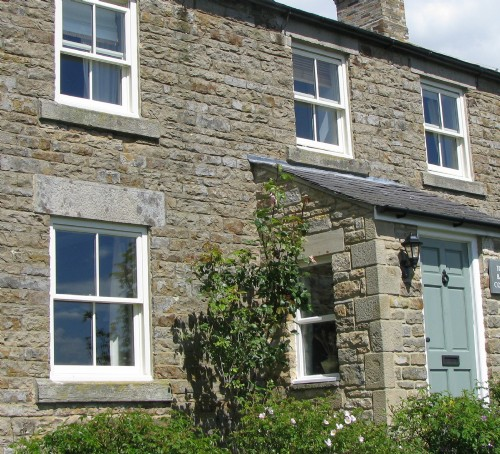 Cottage-style timber windows