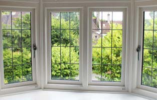 Stormproof windows with leading